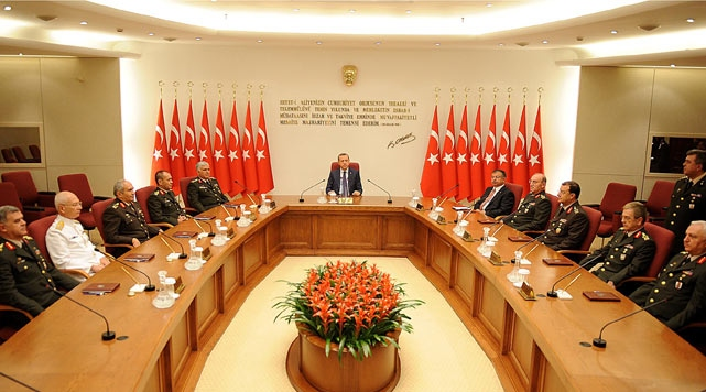 Turkey's top military meeting starts second day - Turkey and