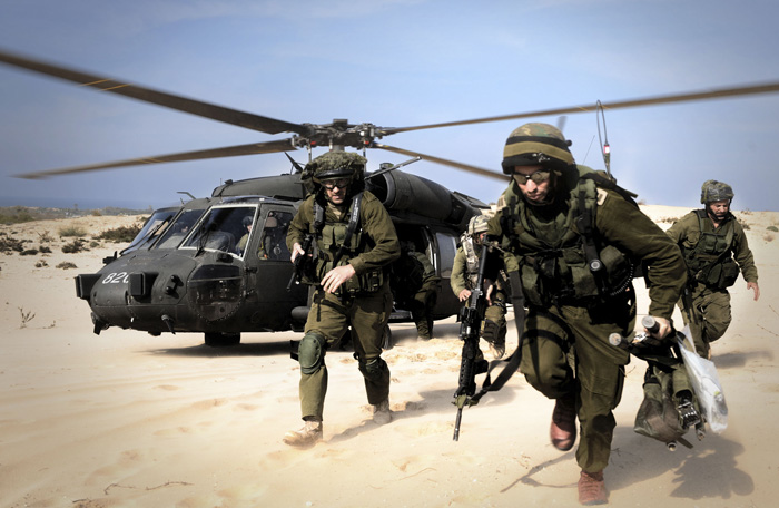Israel conducts military drills in W  Bank