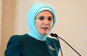 Turkey's first lady awarded for humanitarian aid in US