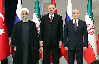 Turkish, Russian presidents meet in Tehran
