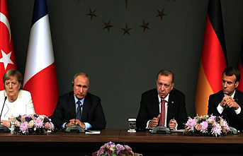 4-nation summit in Istanbul aims to end Syria bloodshed