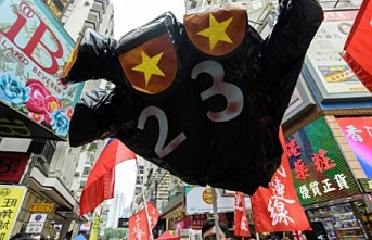 Protest in Hong Kong over China suppression