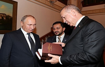 Here are the books that Erdogan gave to Putin