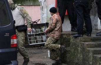 Russian court jails 12 Ukrainian sailors for 2 months
