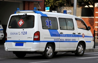 Seven dead in China as car drives onto sidewalk