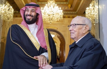 Tunisian president 'welcomes' Saudi crown prince
