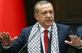 Palestine hails Erdogan's support for Jerusalem
