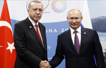 Turkish, Russian leaders meet in Argentina