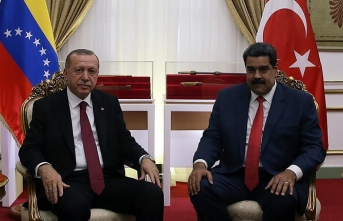 Erdogan voices support for Venezuelan President Maduro