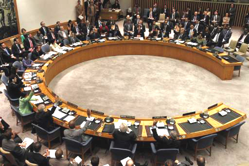 Russia, West trade accusations over Ukraine at U.N.