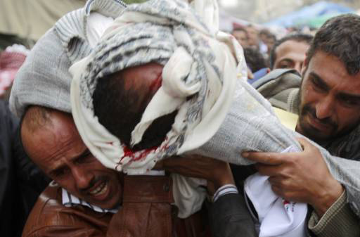 Dozens dead as Yemen forces fire at protest - UPDATED