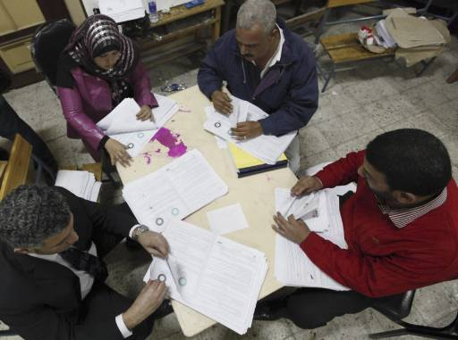 Egypt ends vote count for constitution referendum