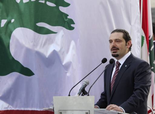Hariri: Iran behind Hezbollah's involvement in region
