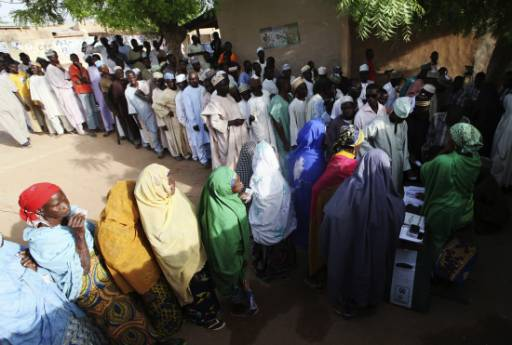 Nigeria races to get voter cards out for presidential election