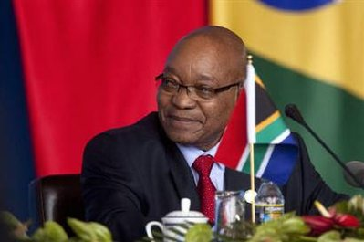 S.Africa's Zuma delays action on graft report