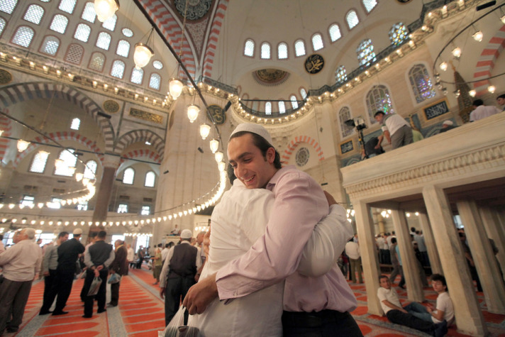 People across Turkey celebrate Eid al-Fitr
