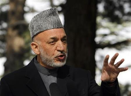 Karzai arrives in Tehran on official visit