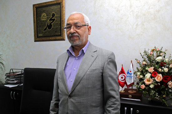 Palestinians thank Ghannouchi for unity efforts