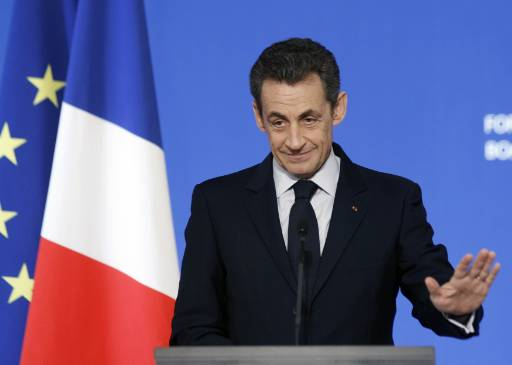 Sarkozy wins French UMP party leadership
