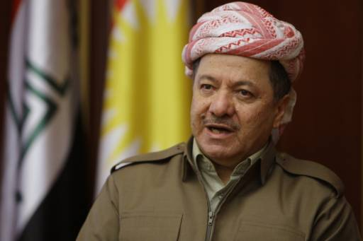 Iraqi Kurdish leader appeals to Germany for weapons