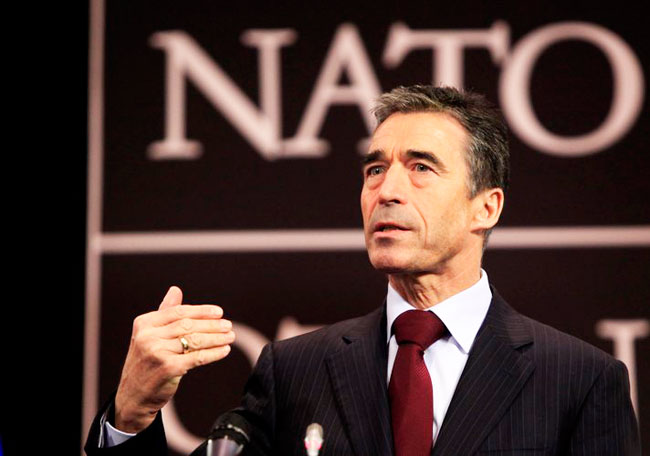 NATO chief: 'Continuous flow of weapons from Russia'