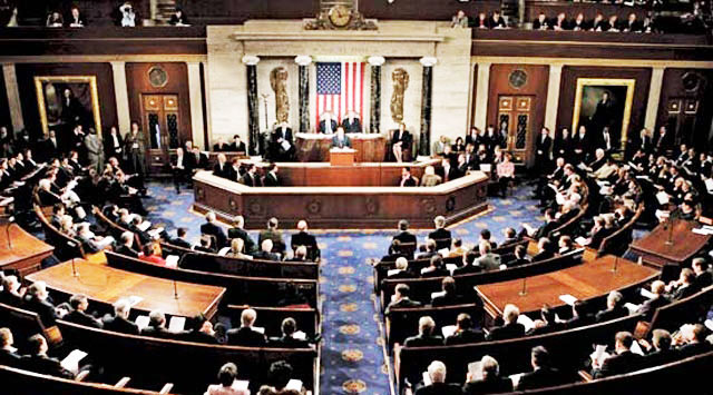 US House approves bills on Iran, Assad supporters