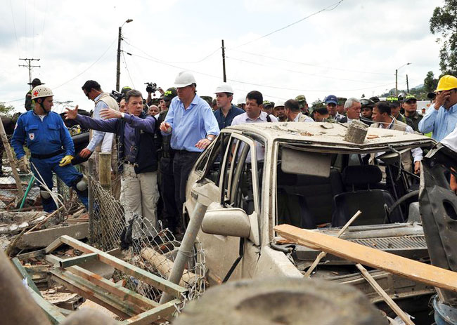 Agricultural strike enters fifth day in Colombia