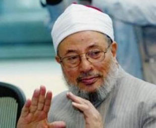 Qaradawi leading Brotherhood members to Tunisia