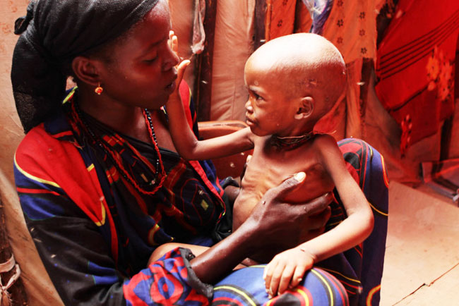 Over a million Somalis at risk of starvation