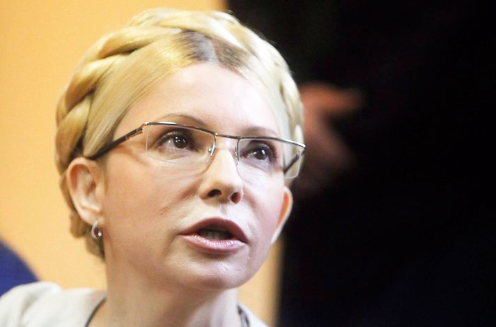 Ukraine's Tymoshenko in Germany for treatment
