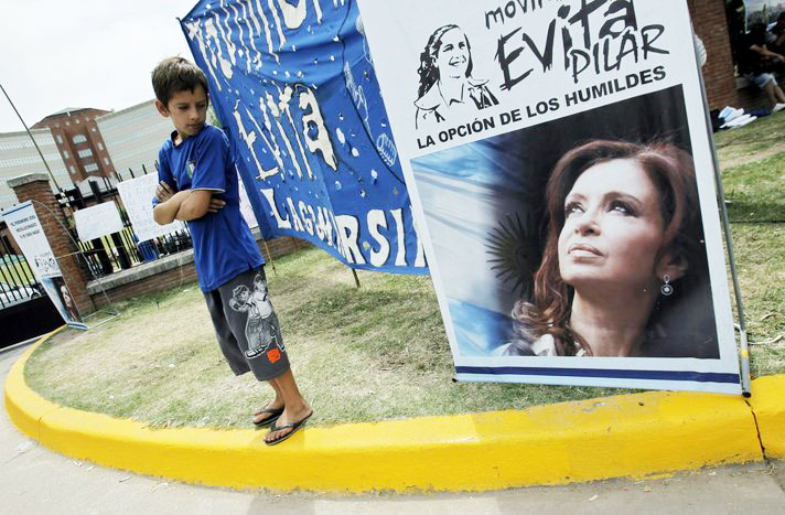 Argentina's president suspends Vatican trip after injury