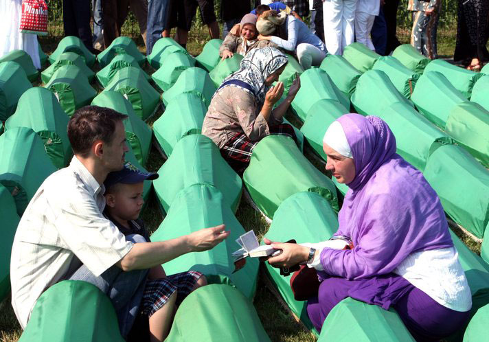 Holland to offer compensation for Srebrenica relatives