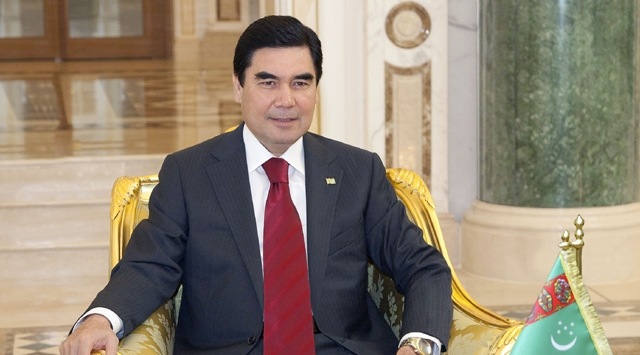 Desert ceremony celebrates Turkmenistan-China gas axis