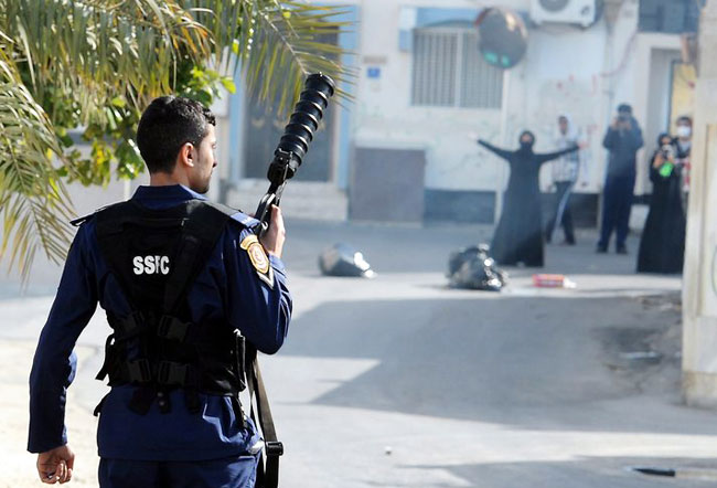 Bomb wounds two policemen in Bahraini village