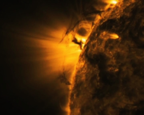 Destructive solar blasts narrowly missed Earth in 2012