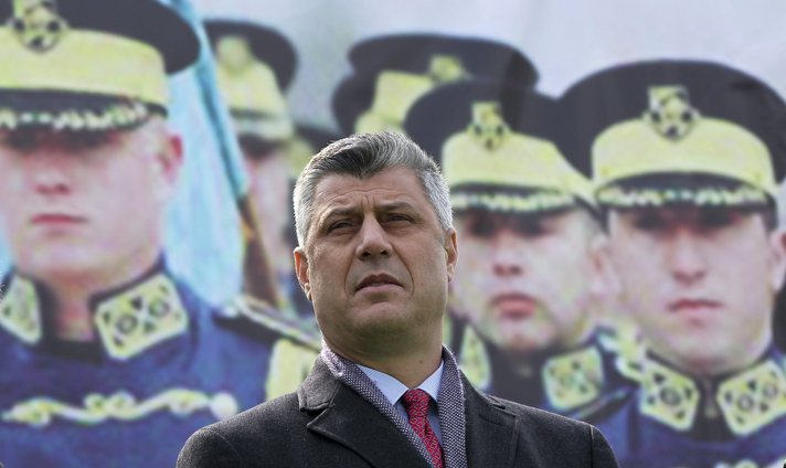Kosovo lawmakers wrestle for control of parliament