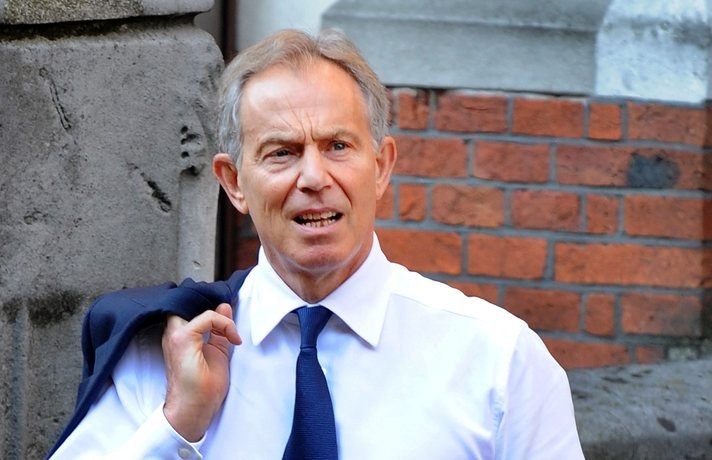Britain could hold second EU vote, says ex-PM Blair