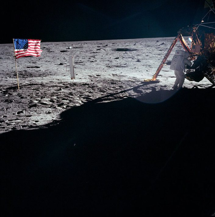 First moon landing celebrates 49th anniversary