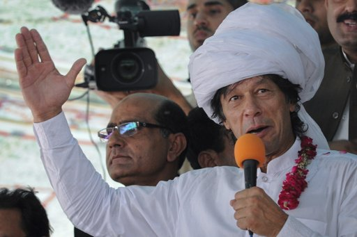 Imran Khan warns Pakistan police not to harm protesters
