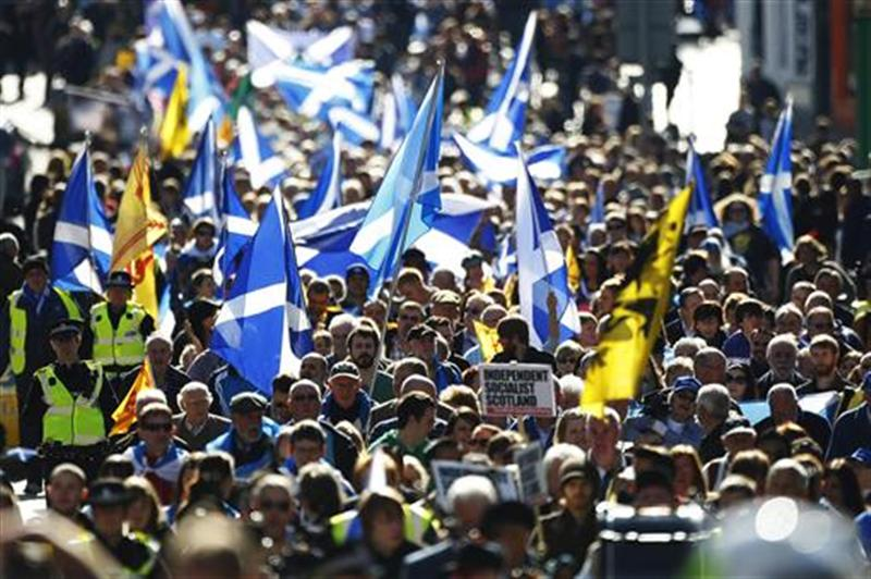 Scottish National Party membership soars after referendum
