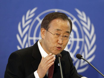 UN's Ban defends 'Zionism' after Turkey remarks