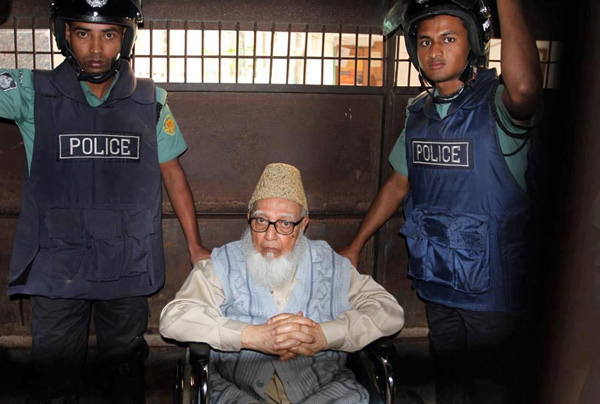 Bangladesh feared to execute 90-year-old Islamist leader