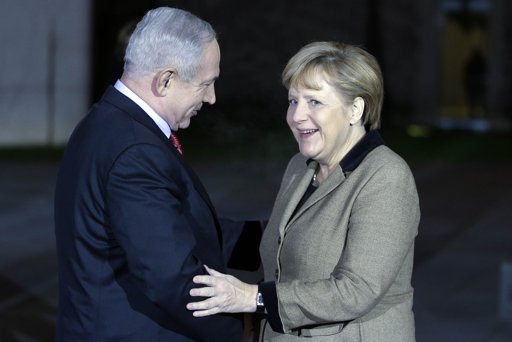 Merkel and Netanyahu call Iran 'a threat'