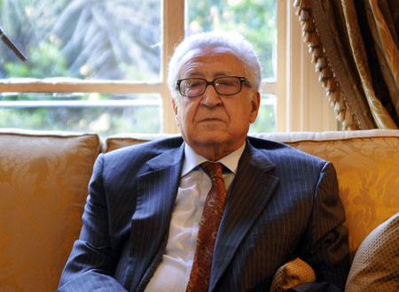 Brahimi: Syria becoming warlord-run failed state