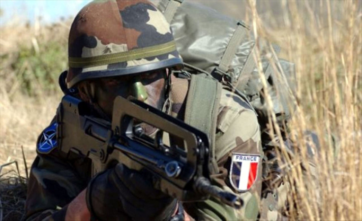 Why are French soldiers in Mali?