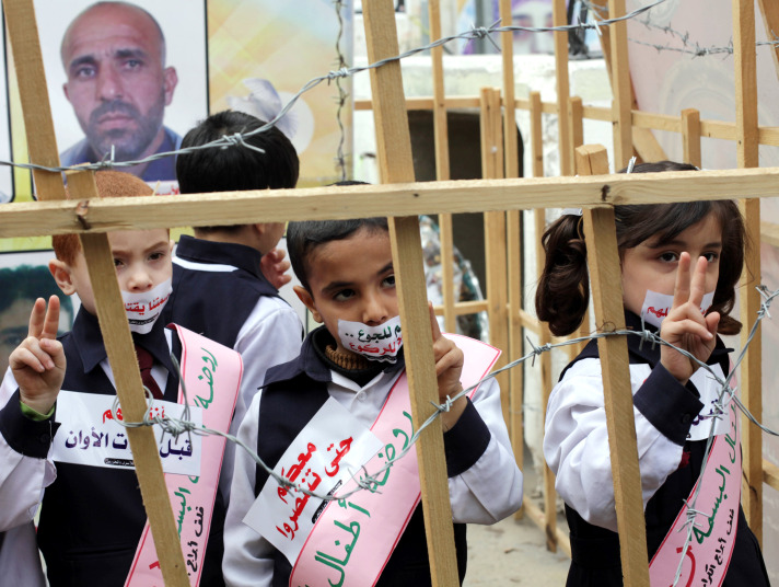 1500 Palestinian detainees on hunger strike: NGO