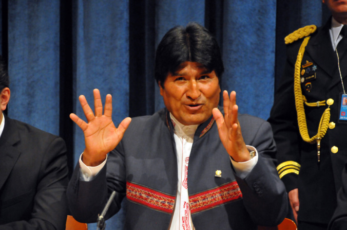 Bolivia's Morales claims re-election victory