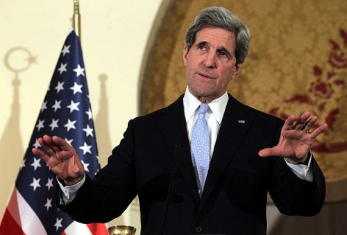 Kerry sees Turkish PM's Zionism comments 'objectionable'