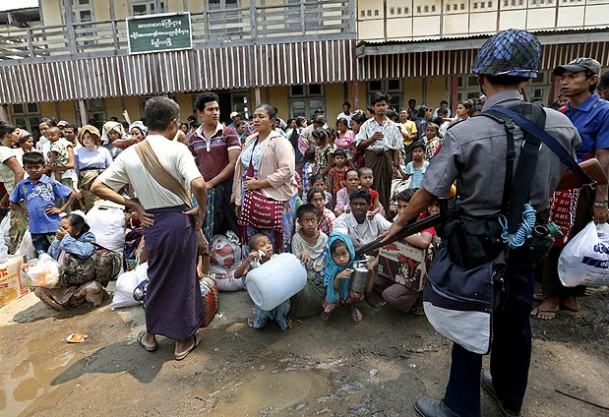 Myanmar warns aid agency 'to avoid politics' in Rakhine
