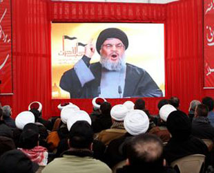 Hezbollah leader vows victory in Syria